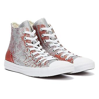 Converse Chuck Taylor All Stars Hej Top Womens Fire Pit / Himalaya / Salt White Trainers
