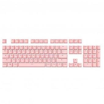 Tampa de teclas de tiro duplo 104 para teclado mecânico, cherry mx