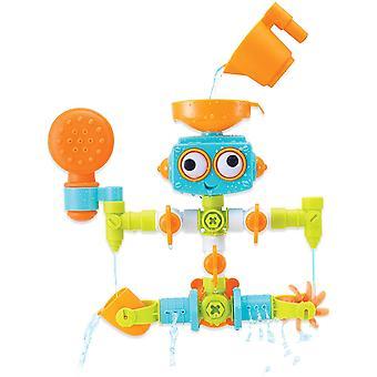 Sensory Plug & Play Klempner-Set – Badewannen-Roboter für Babys ab 10 Monaten – Mit