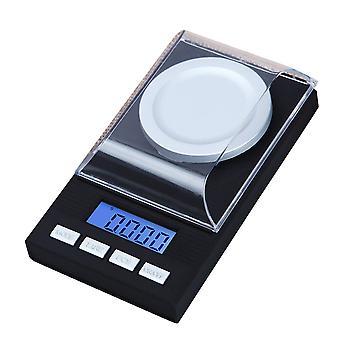 Мини Грамм Весы Высокоточные Ювелирные Изделия Весы 0.001г для продуктов питания, ювелирных изделий, медицины, кофе