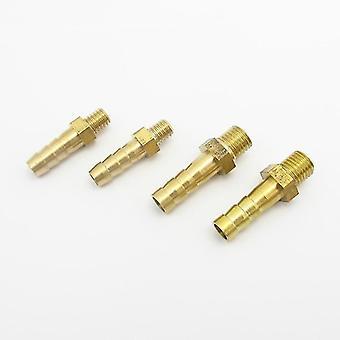 Connecteurs de tuyau tuyau barbe mâle filetage en laiton raccord de tuyau adaptateur de connecteur de raccord de tuyau