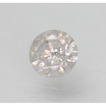 Sertifioitu 0,60 karat G SI3 pyöreä brilliant parannettu luonnollinen löysä timantti 5,31mm