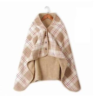 Moisture-absorbing Heat-preserving Warm Blanket Lazy Buckle(S3)