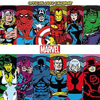 Pyramid International Marvel Retro (comic Book) 2022 Calendar