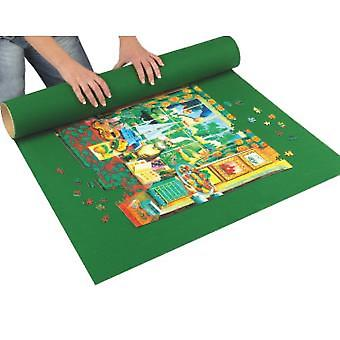 Curlable Puzzle Mat - Green
