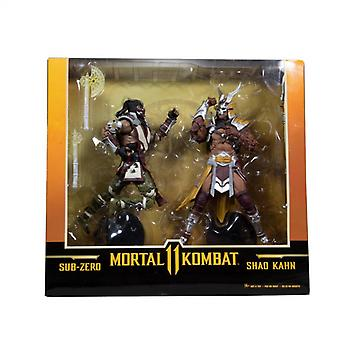Sub Zero vs. Shao Khan Mortal Kombat 11 McFarlane Toys Action Figure 2-Pack