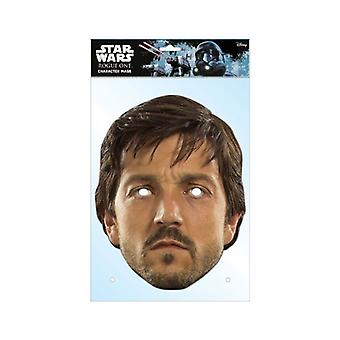 Cassian Andor Rogue One: A Star Wars Story Single 2D Card Party Fancy Dress Mask
