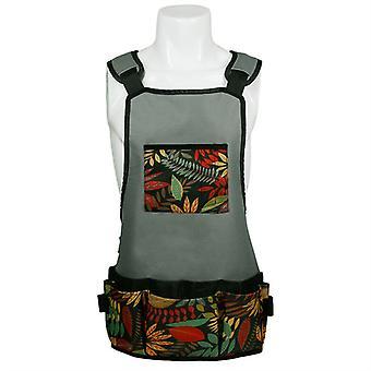 Mimigo Gartenschürze, Oxford Stoffarbeitsschürze mit Taschen, verstellbare Werkzeugschürze für den Hausgarten, Schwere Arbeitsschürze für Männer und Frauen, Künstlerschürze