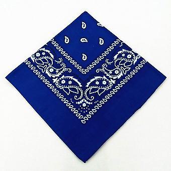 Fashion Unisex Bandana Scarf Hip Hop Hiking Headscarf Wrist Wraps Magic Square Kerchief Cashew Print Hair Accessories