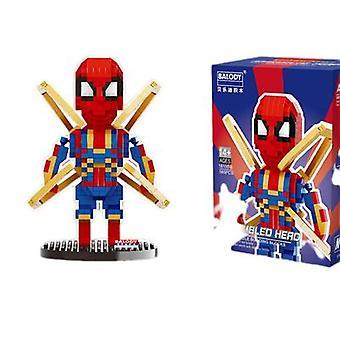 Marvel Lego Brick Pieni Rautamies Lelu