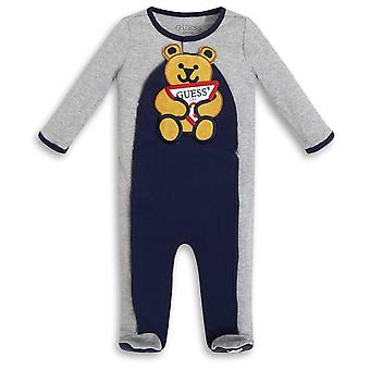 Guess baby boys teddy babygrow h1yw00ka6w0 lhy
