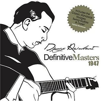 Django Reinhardt - endelige mestre 1947 [CD] USA import