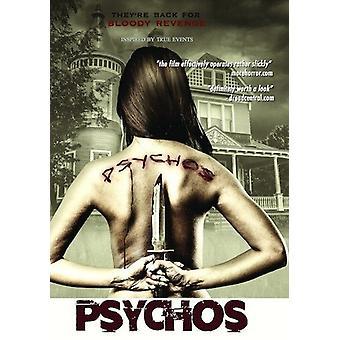 Psychos [DVD] USA import