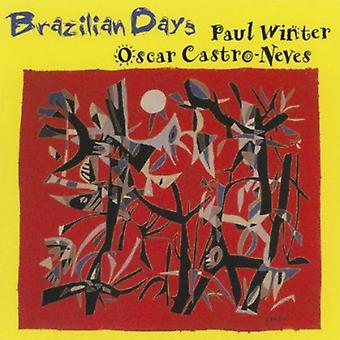 Paul Winter & Oscar Castro-Neves - Brazilian Days [CD] USA import