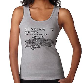 Haynes Workshop Manual 0022 Sunbeam Stiletto Black Women's Vest