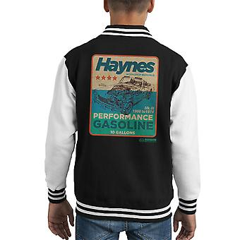 Haynes MG MGB Performance Gasoline Kid's Varsity Jacket