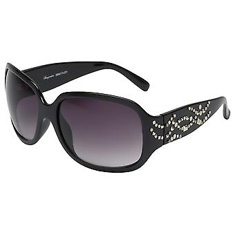 Elegant sunglasses for women by Burgmeister with 100% UV protection | solid polycarbonate frame, high quality sunglasses case, microfiber glasses pouch and 2 years warranty | SBM113-231 Las Vegas
