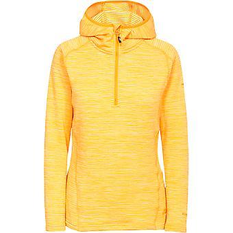 Overtredelse kvinners/damer Romina hette halv Fleece Sweatshirts glidelås