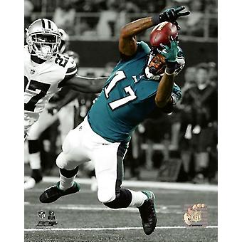 Alshon Jeffery 2017 Spotlight Action Photo Print