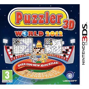 Puzzler World 2012 (Nintendo 3DS) - New