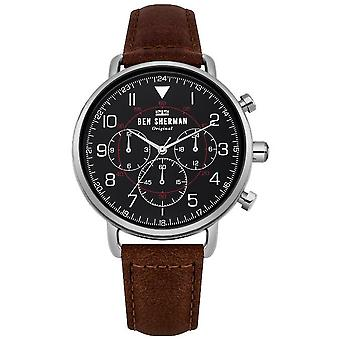 Ben Sherman mens watch PORTOBELLO MILITARY multifunction WB068BBR