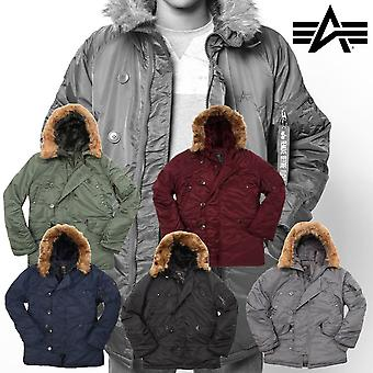 Alpha Industries Herren Winterjacke N3B