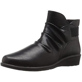 Easy Street Womens Bounty fechado Toe Ankle Boots do tempo frio