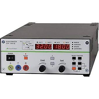 Gossen Metrawatt SSP 320-32 Bench PSU (adjustable voltage) 0 - 32 V DC 0 - 18 A 320 W RS232 programmable No. of outputs 1 x