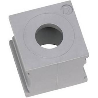 Icotek KTMB-B Cable grommet Terminal Ø (max.) 7.5 mm Elastomer Grey 1 pc(s)