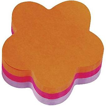 3M Sticky note pad 7000080669 70 mm x 22.5 mm Neon orange, Pink, Purple 225 sheet 3M Sticky note pad 7000080669 70 mm x 22.5 mm Neon orange, Pink, Purple 225 sheet