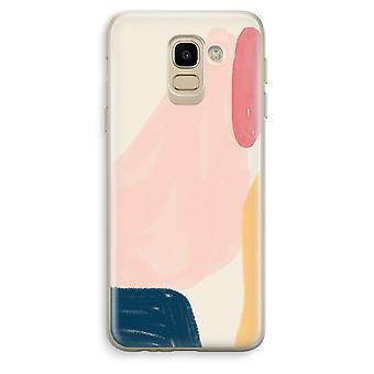 Custodia trasparente Samsung Galaxy J6 (2018) (Soft) - sabato flusso