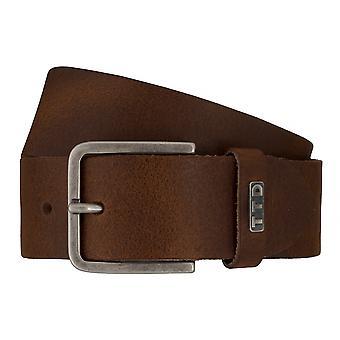 Jeans de TOM TAILOR correa cuero cinturones hombre cinturones cinturón marrón 7602