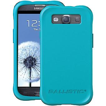 Ballistic Life Style Smooth TPU Case for Samsung Galaxy S3 (Teal)