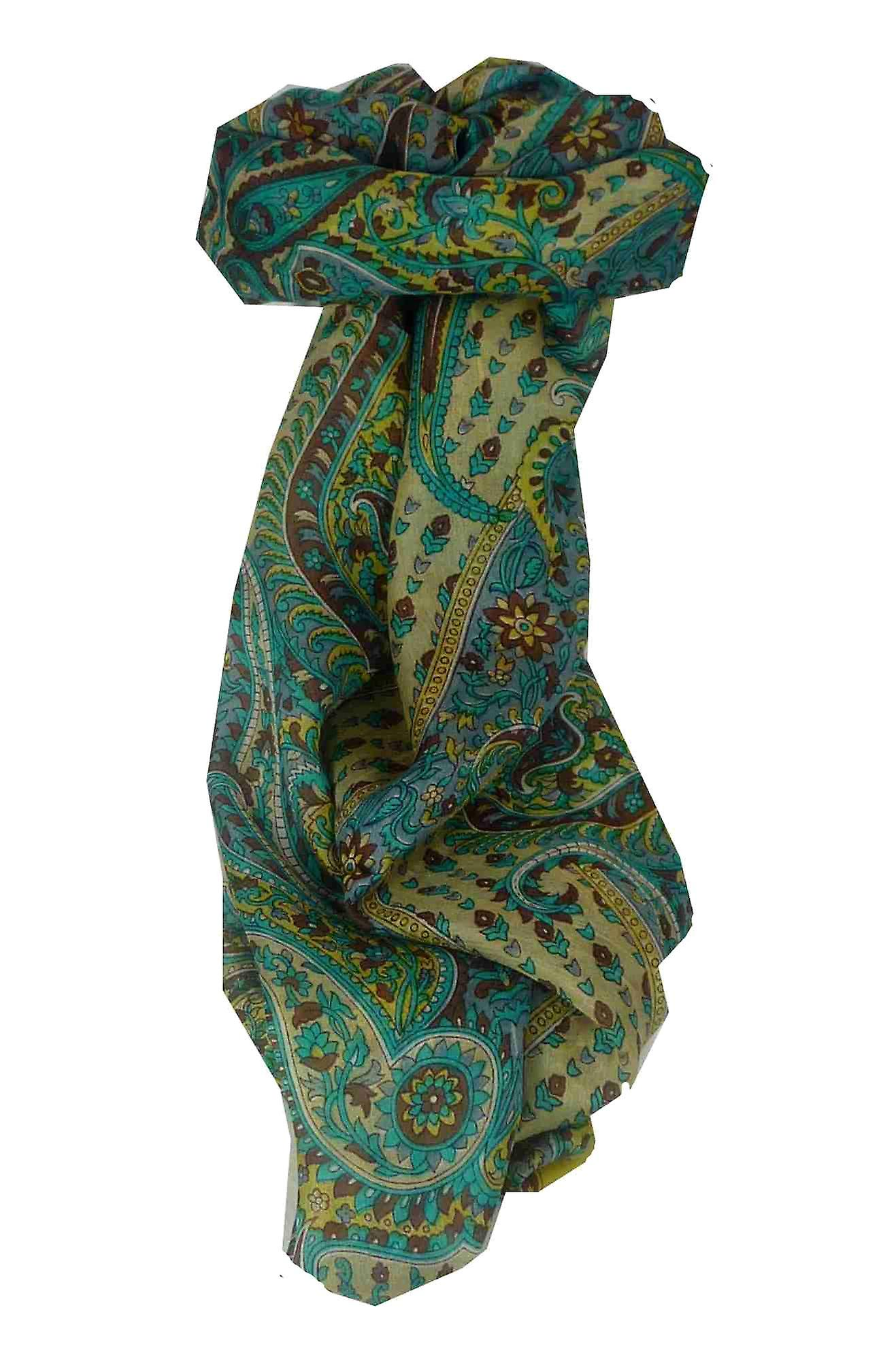 Mulberry Silk Traditional Long Scarf Lexi Cream by Pashmina & Silk