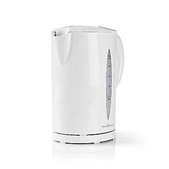 Electric kettle, 1.7 L and 2200W-White