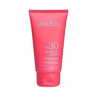 Decleor Aroma Sun Expert schützende feuchtigkeitsspendende Milch LSF 30 150ml
