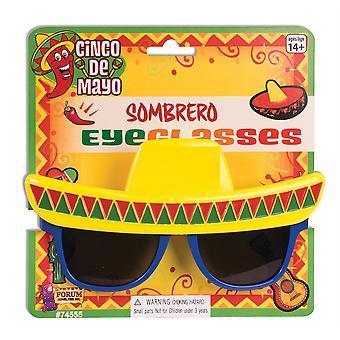 Sombrero-Sonnenbrille, Mexikanisch