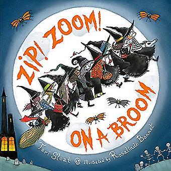 ZIP! Zoom! Auf einem Besen von Teri Sloat - 9780316256735 Buch