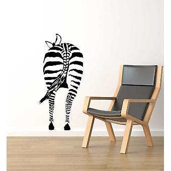 Zebras Bum Wall Sticker