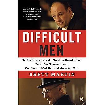 Vanskelig menn: Bak kulissene i en kreativ revolusjon: the Sopranos og å gale menn og bryte...