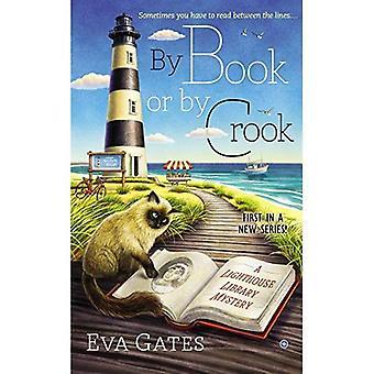 Av bok eller skurk: en fyr bibliotek Mystery