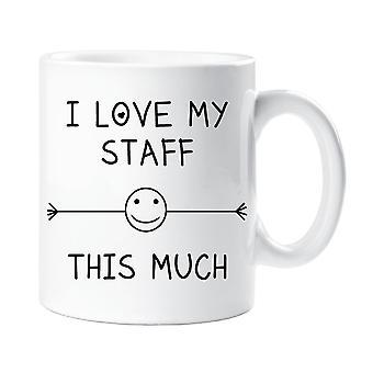 I Love My Staff This Much Mug