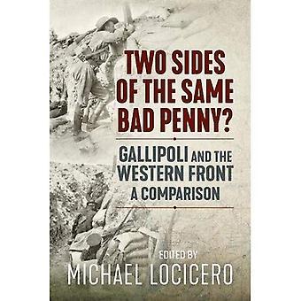 Två sidor av samma dåliga öre: Gallipoli och västfronten, en jämförelse