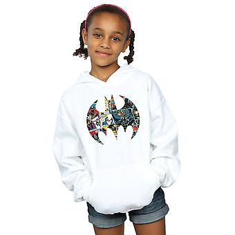 DC Comics meisjes Batman Comic Book Logo Hoodie