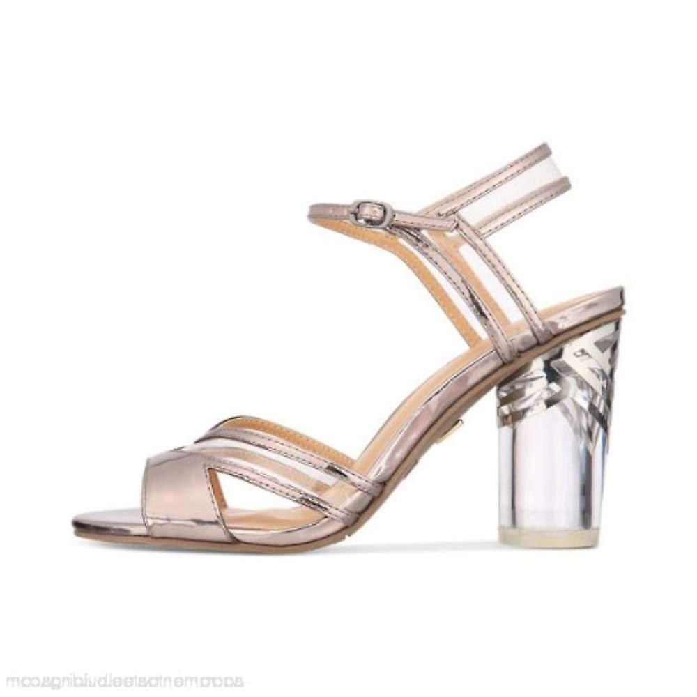 Thalia Sodi damskie Carsyn Otwórz specjalne okazje kostki Strap sandały p7jSX