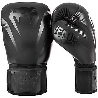 Auswirkungen von Venum Boxhandschuhe schwarz/schwarz