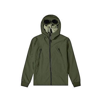 C.P. Company Undersixteen Khaki Soft Shell Goggle Jacket