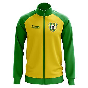 Norwich Concept Football Track Jacket (Yellow)