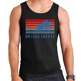 Orange County retro 70s Sunset Miesten liivi
