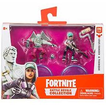 Fortnite kärlek Ranger & Teknique Battle Royal Collection 2 figur Pack